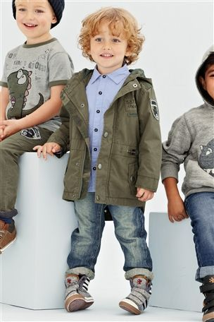 Buy Khaki Parka (3mths-6yrs) from the Next UK online shop | TB