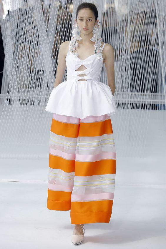 Delpozo Spring 2017 Ready-to-Wear Fashion Show - Karime Bribiesca
