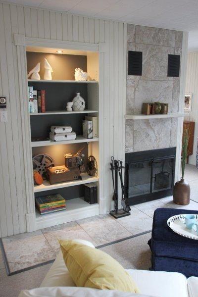 Foyer - Ste-Lucie-des-Laurentides