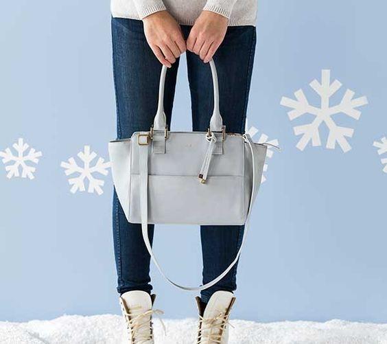 isabelle light tan purse