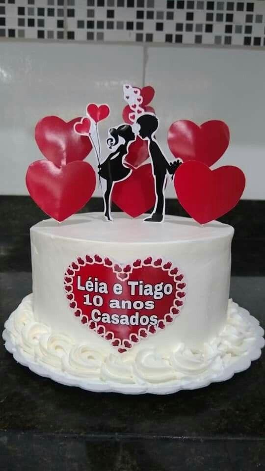 Pin De Lorena Ocampo Em Beautiful Cakes Bolo De Namorado Belos