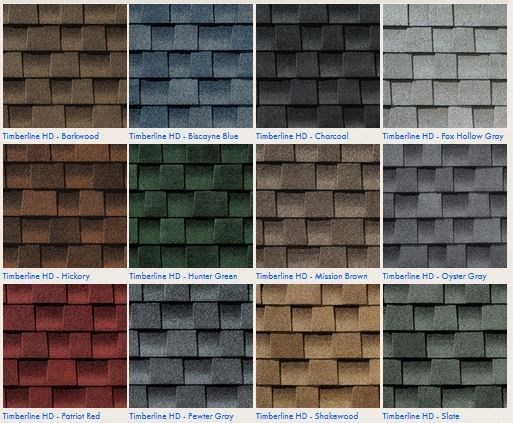 The Roof Roof Shingle Colors Architectural Shingles Roof