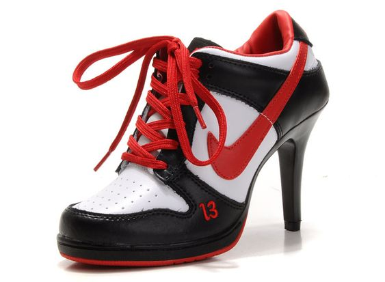 red and black nikes
