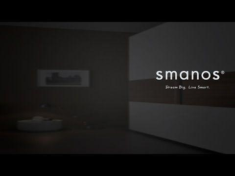 Das Smanos Smart Home System.  Sicherheit für Ihr Zuhause trifft minimalistisches Design.