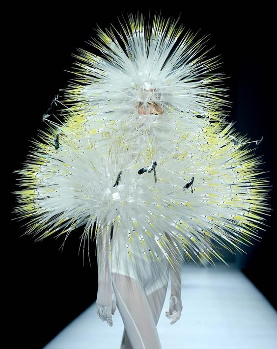 Make a wish and blow on it--it's a dandelion! China - Graduate Fashion Week