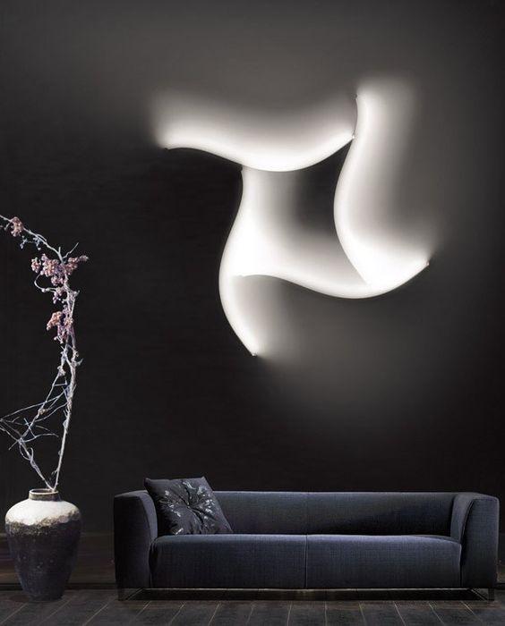 LED wall lamp FORMALA PLUS 1 by Cini&Nils | #design Luta Bettonica
