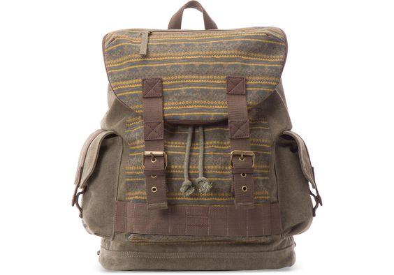 undefined National Geographic Rucksack aus Baumwolle