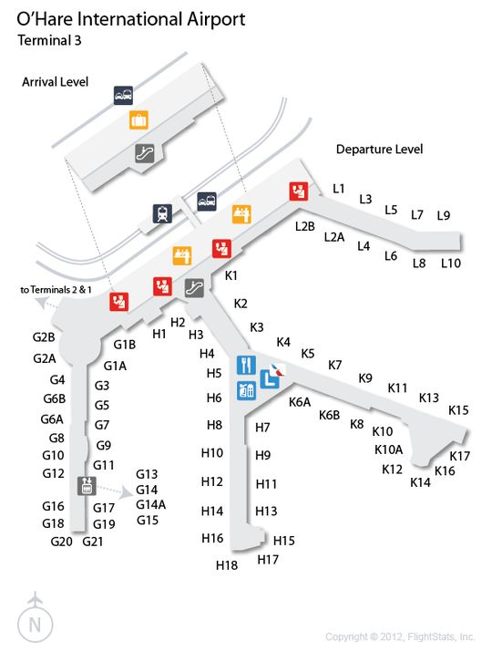 ord o hare international airport terminal map american airlines terminal 3 cartography pinterest international airport and flight status