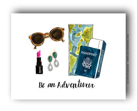 Be An Adventurer No. 3 | Evelyn Henson prints