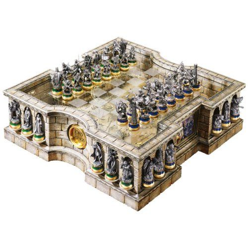 The Lord Of The Rings Collectors Chess Set My