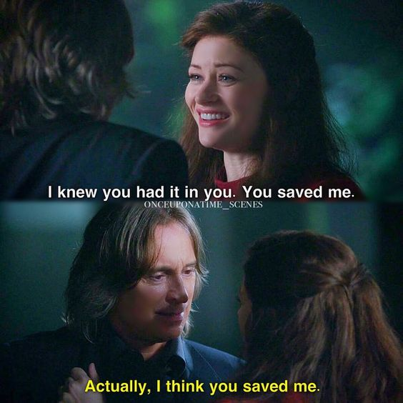 "Belle and Rumple - 5 * 6 ""The Bear and The Bow"" #RumBelle"