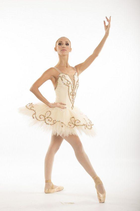 Dance Nutcracker Snow Ballet White Swans Costume Feathers Sequins Child Size Platter Tutus