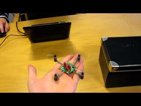 DIY: make a circuit board fly with this cute, tiny quadcopte