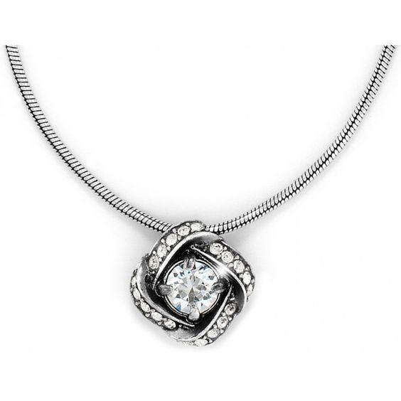 Brighton Eternity Knot Necklace #brighton #jewelry #necklace