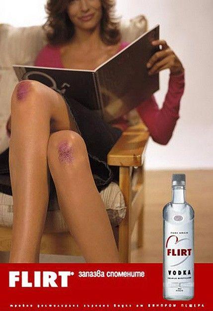 Vodka Flirt #sexonomarketing #sexsells #advertising #publicidade #marketing #campanha #campaing #sexo #sexy #sensualidade #nudez #sexualidade