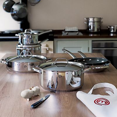 Endless love: Contemporary designs to last a lifetime. MasterChef cookware. #johnlewis #kitchen Registering your list is free and easy - simply call or visit your local shop, or go online: www.johnlewisgiftlist.com