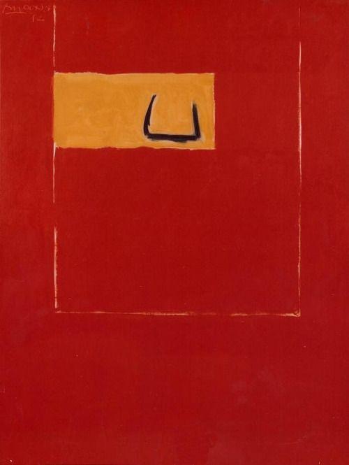 abstrakshun: Robert Motherwell (American, 1915 - 1991)