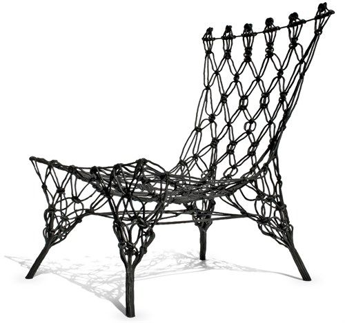 Knotted Future Chair, from Marcel Wanders