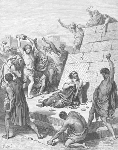 István megkövezése