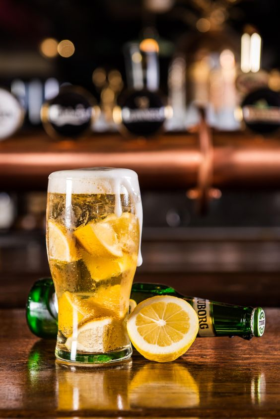 Special Beer - One way of having a beer...