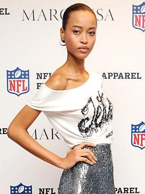 Fashionable football: Marchesa designs shirts for the NFL (Slaven Vlasic / Getty Images)