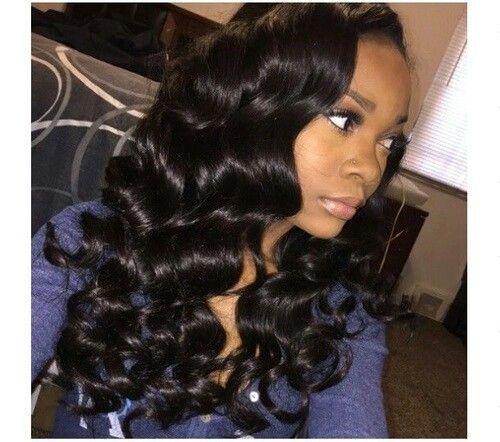 Classic Lace Wigs Amazing Hot Beauty Peruvian Loose Wave Hair Loose Waves Hair Hair Waves Wig Hairstyles