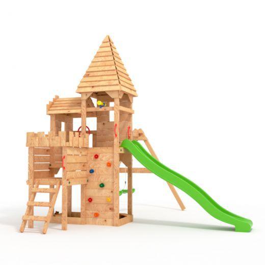 Fatmoose Countrycow Maxi Xxl Spielturm Kletterturm Schaukel Baumhaus Spielhaus Schaukel Rutsche Spielturm Spielturm Mit Schaukel