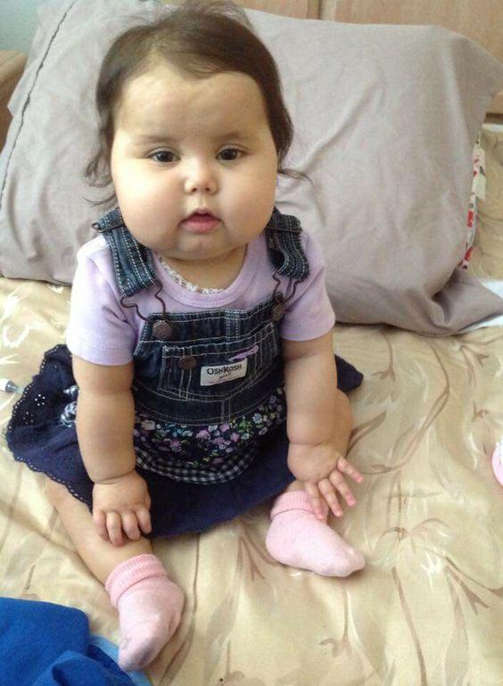 Bebê Sofia, um anjinho no céu
