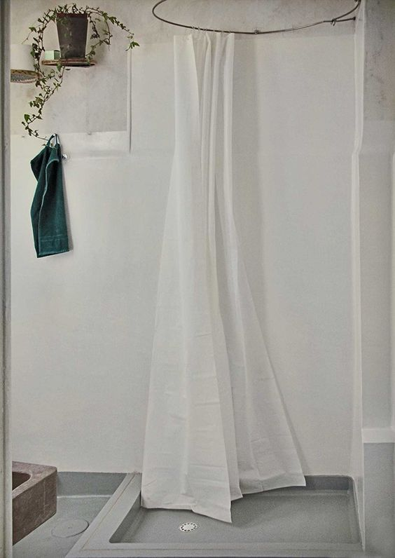 Pietro Russo Shower Curtain Rod