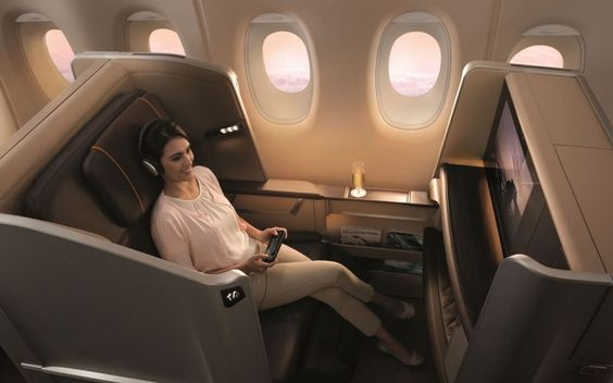 Surprisingly the fancy first class perks are paid for by economy passengers