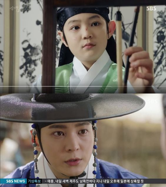 "Child Actors with their Adult Counterparts - Jeon Jin Seo (child) and Joo Won (adult) as Gyun Woo in ""My Sassy Girl"""