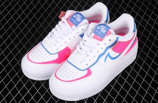 Nike Air Force 1 Shadow White Pink Blue Cu3012 111 Nike Air Force Nike Air Air Force