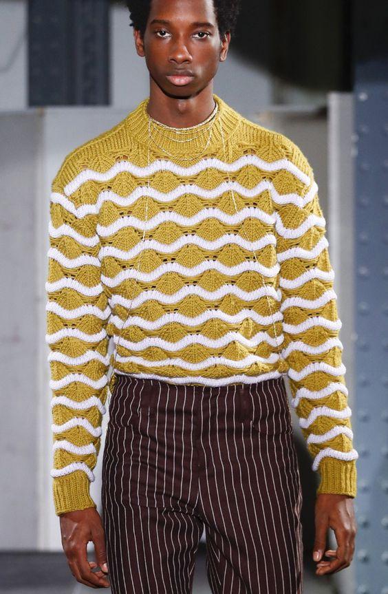 Men's Sweater, Acne Studios Fall 2018 Menswear fashion show