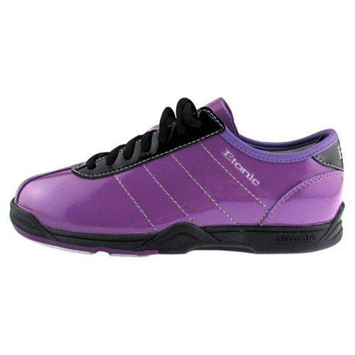 Etonic Basic Womens Purple Flame bowling shoe | Flaming Clothing ...