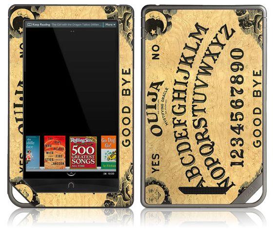 Quija board Nook Tablet skin? Qui!