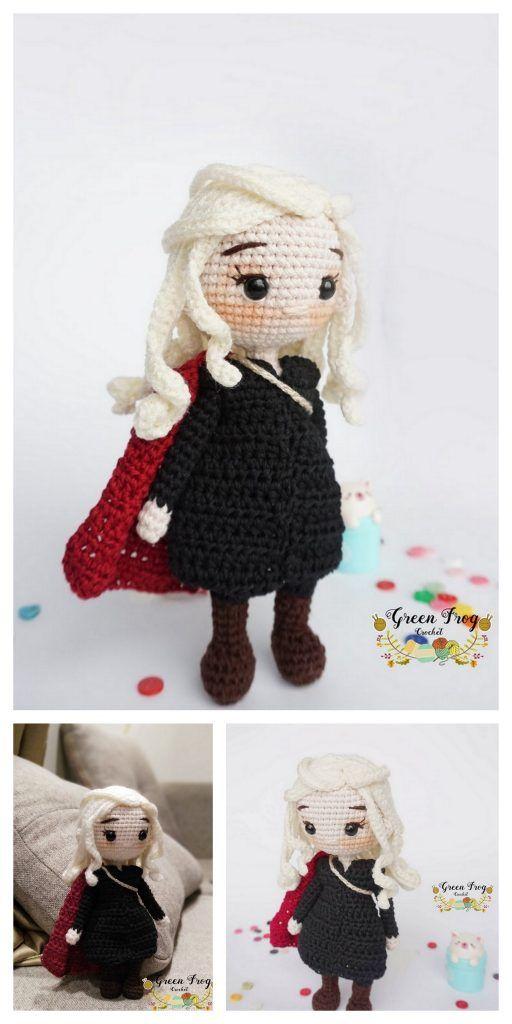 Amigurumi Doll Zühre Free Crochet Pattern in 2020   Crochet baby ...   1024x512