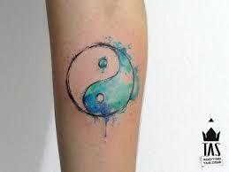Resultado de imagen para tatuaje yin yang