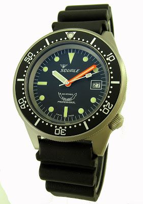 Orologio - Squale 1521 026 A Blasted