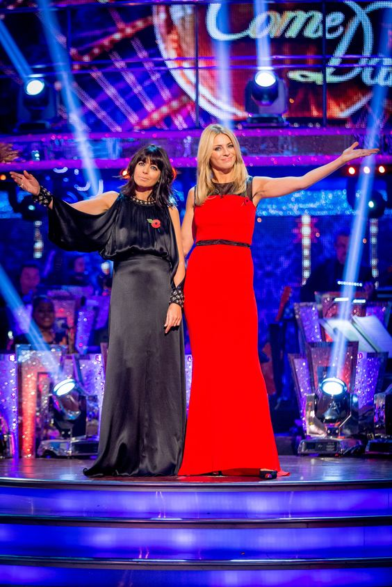 Strictly Come Dancing 2014: Week 5 - Claudia Winkleman and Tess Daly