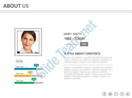 Introduction Powerpoint Employee Skills Profile Powerpoint