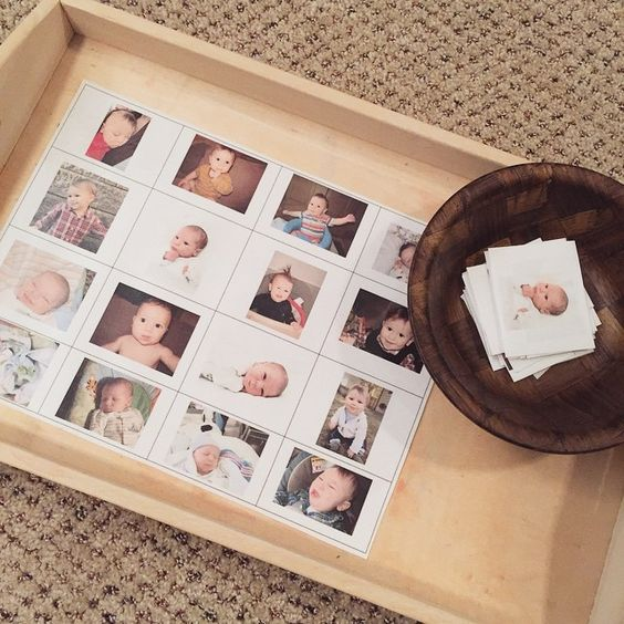 """Baby Henry matching #montessori #homeschool"""