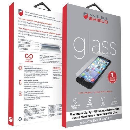 Invisibleshield By Zagg Iphone 6 Glass Screen Protector Clear Iphone 6 Screen Protecto Glass Screen Protector Iphone Iphone Glass Iphone 6 Screen Protector