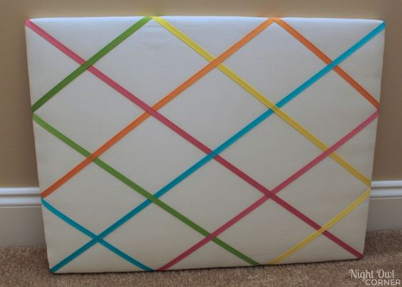 DIY french memo board