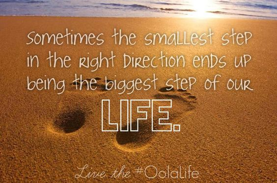 Small steps :)
