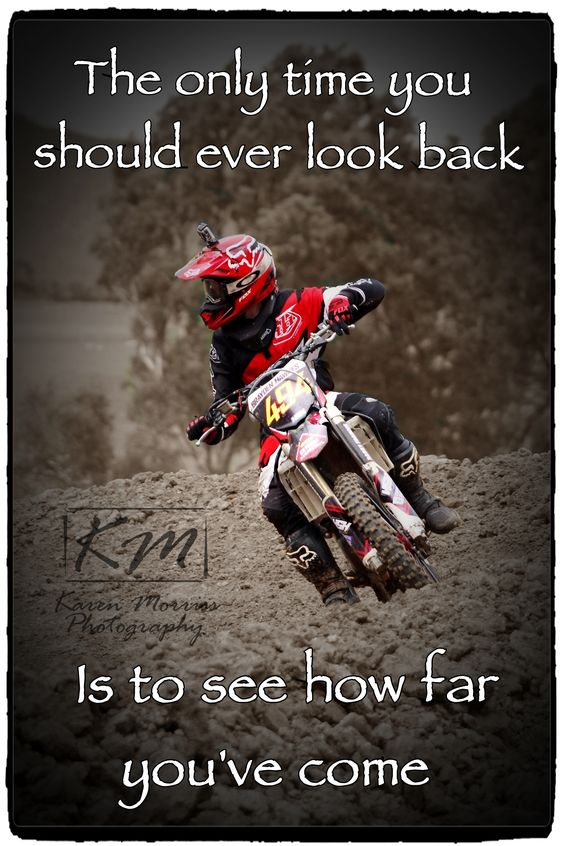 Brayden - Motocross Quote
