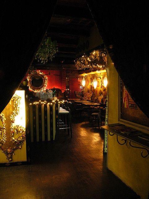 Christmas at the Radost Bar - Prague, Czech Republic