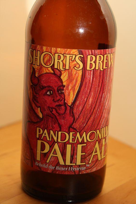 Short's - Pandemonium Pale Ale  Good stuff.  Found the hops interesting.