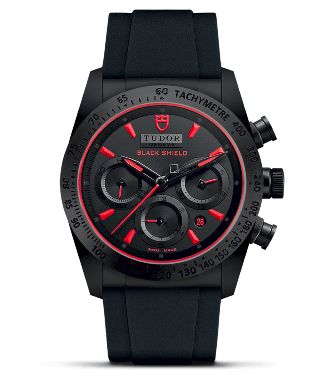 Best watches for men - Tudor Fastrider Black Shield