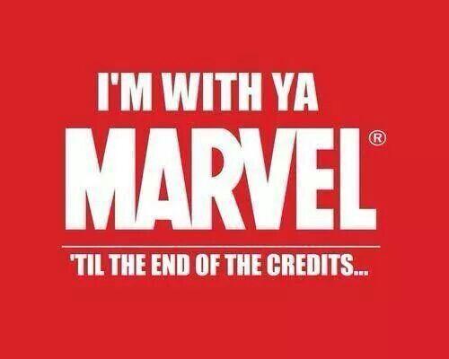 With ya Marvel: