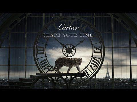 Shape your time, la superbe publicité de Cartier - Trends Periodical #Cartier